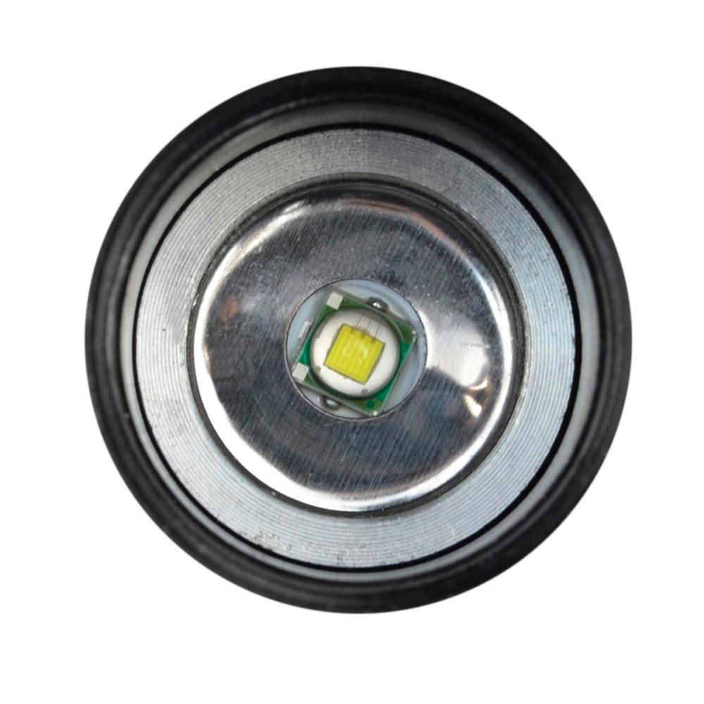 Lanternas e Lanternas mini lanterna 5 modos zoomable Cor : Preto
