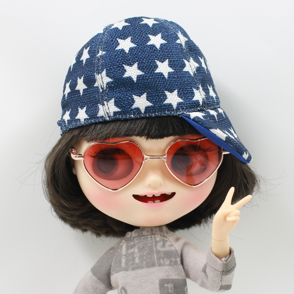 Neo Blythe Doll Heart Shaped Glasses 3
