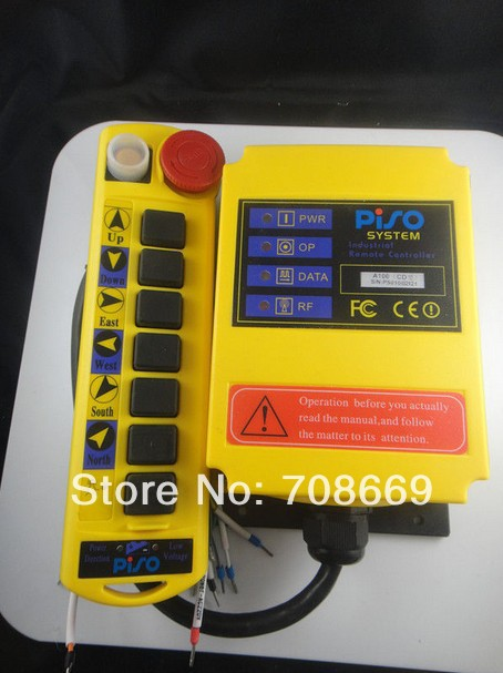 1 Speed Control Hoist Crane Remote Control System A100-in Switches from Lights & Lighting