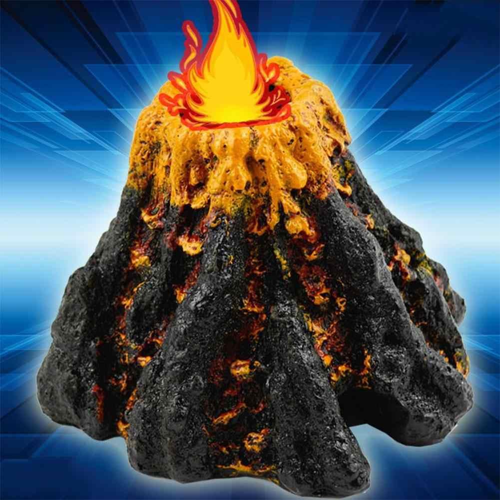 LumiParty аквариум орнамент моделирование Форма вулкана орнамент декоративный воздушные шарики, камень рыбный бак кислородный насос аквариума игрушка-35