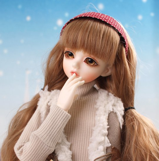 1/4 scale BJD lovely cute BJD/SD kid Delf girl luts salgoo Resin figure doll DIY Model Toys.Not included Clothes,shoes,wig 1 4 scale bjd lovely kid bjd sd sweet cute girl luts qi c cherry figure doll diy model toys not included clothes shoes wig