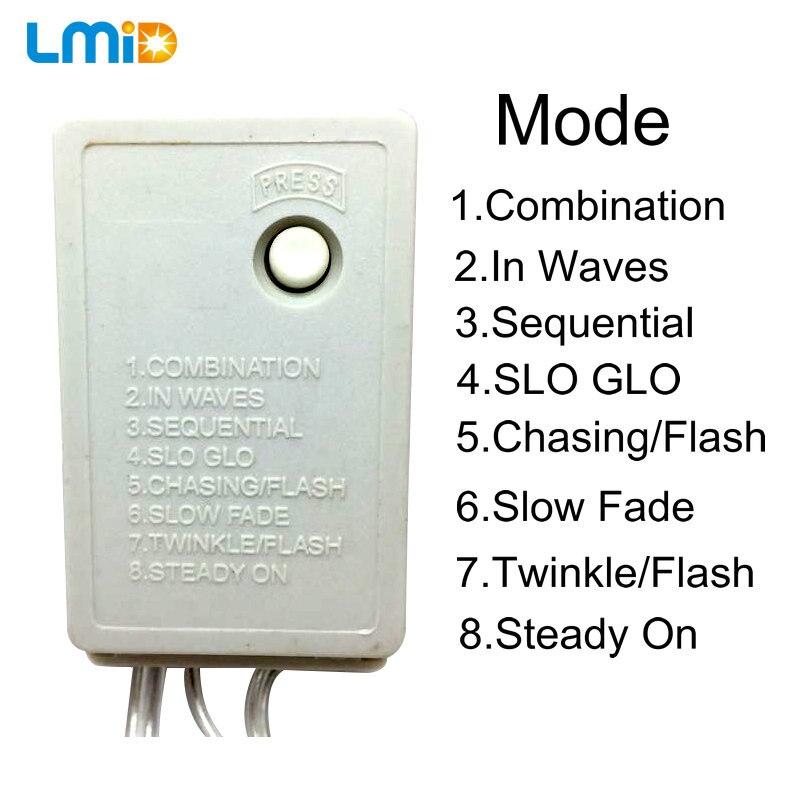 Lmid iluminación LED 32.8FT 100 leds de colores hadas partido ...