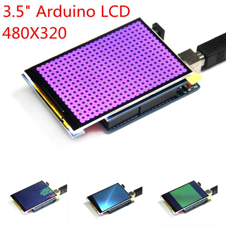 """Livraison gratuite! Module LCD 3.5 pouces écran LCD TFT 3.5 """"pour carte UNO R3 et support mega 2560 R3"""