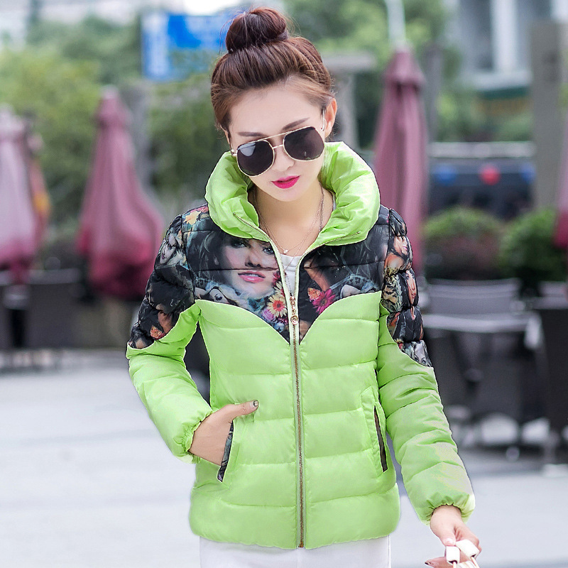 Women Down Jacket Coat 2016 Fashion Korean Winter Jacket Women Thick Outerwear Plus Size Down Coat Casual Slim Design Parkas