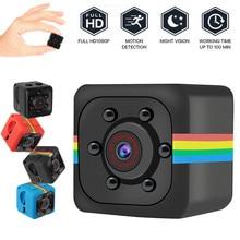 SQ11 мини видеокамера 720P Мини-камера для занятий спортом DV DVR Ночной монитор для зрения микро маленькая камера видео рекордер полицейский Карманный cam sq13