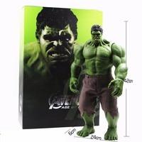 Hot Avengers Incredible Hulk Iron Man Hulk Buster Age Of Ultron Hulkbuster 42CM PVC Toys Action