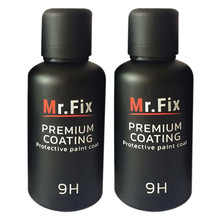 2PCS Mr fix9H Car Oxidation Liquid Ceramic Coat Super Hydrophobic Glass Coating Set Polysiloxane materials font