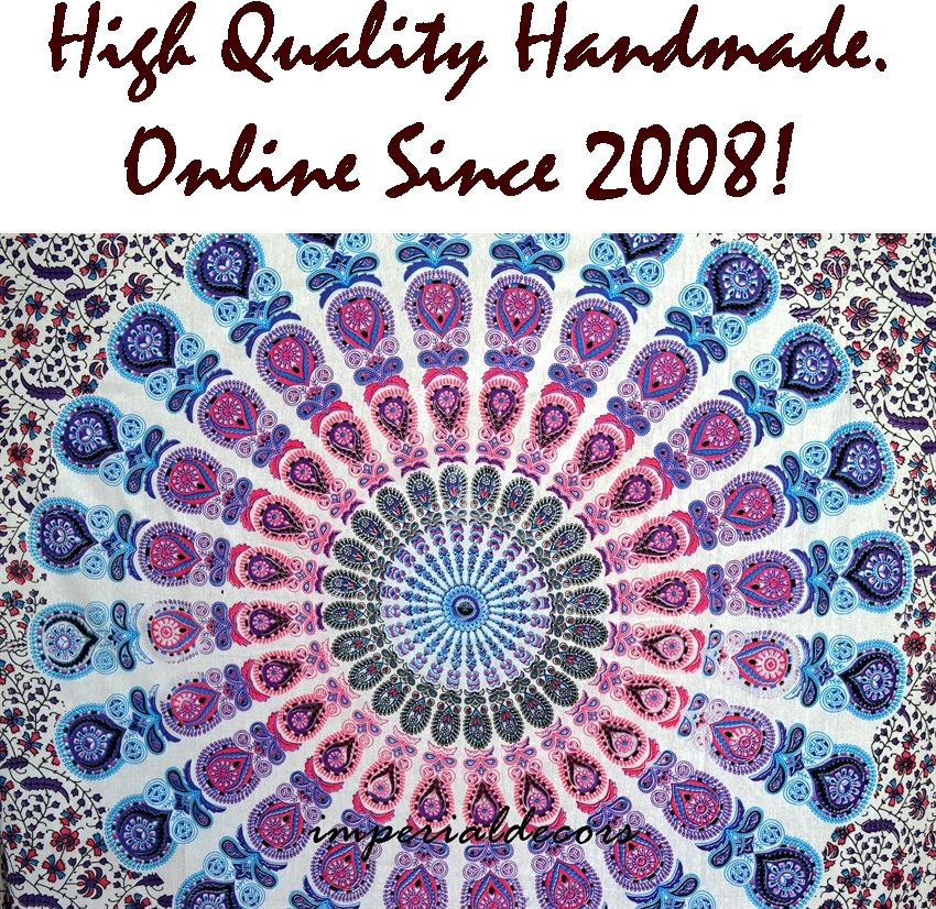 Indian Mandala Twin Size Tapestry Hippie Wall Hanging Throw Bedspread