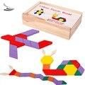 60 pcs a aprendizagem do bebê meninos meninas crianças garoto padrão educacional blocos de construção de brinquedos de madeira brinquedo de presente de madeira SV18