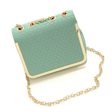 2016 New Fashion Women Mini Bags Female Small Chain Shoulder Messenger Bags PU Leather Party Handbag Candy Color Girl Bag WQ192(China (Mainland))