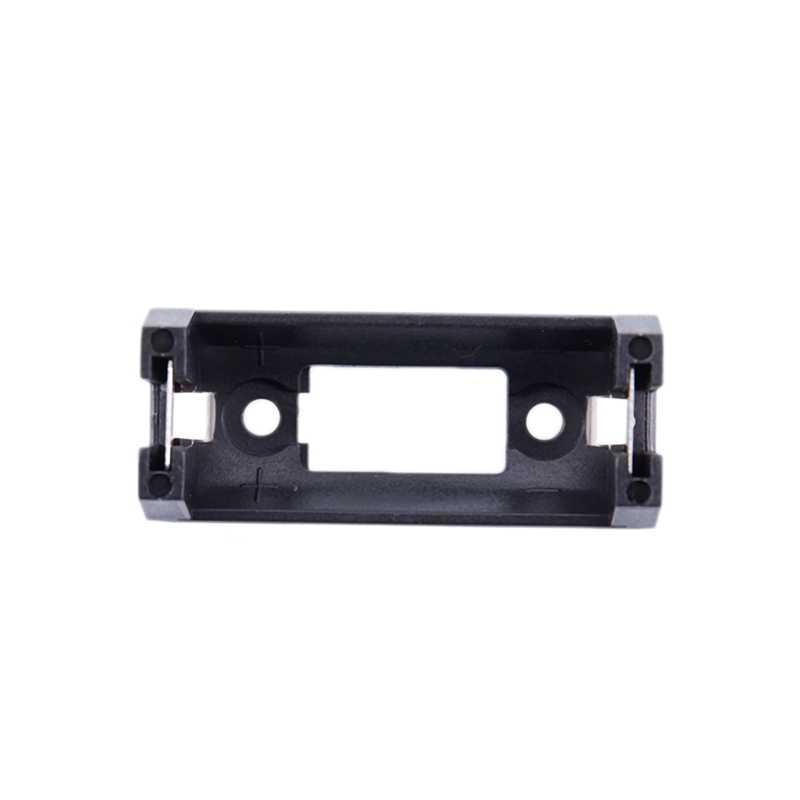 เปลือกพลาสติก 3V CR123A แบตเตอรี่ซ็อกเก็ตผู้ถือสีดำ #8