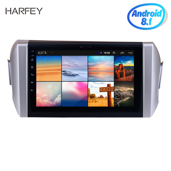 Harfey Android 10.0 API 29 Radio for 2015 Toyota INNOVA left hand driving 9 GPS Car multimedia Player SWC Bluetooth USB WIFI image