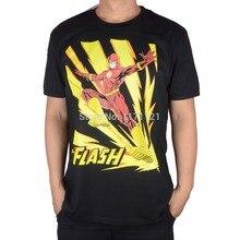 Justice League The Flash Superheroes Cotton Casual Men's T-shirt