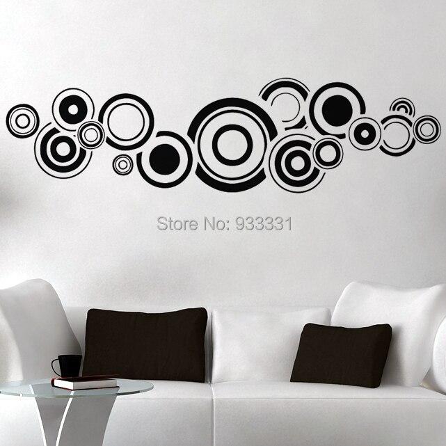 Dibujos decorativos en paredes vinilos decorativos rock for Vinilos pared aliexpress
