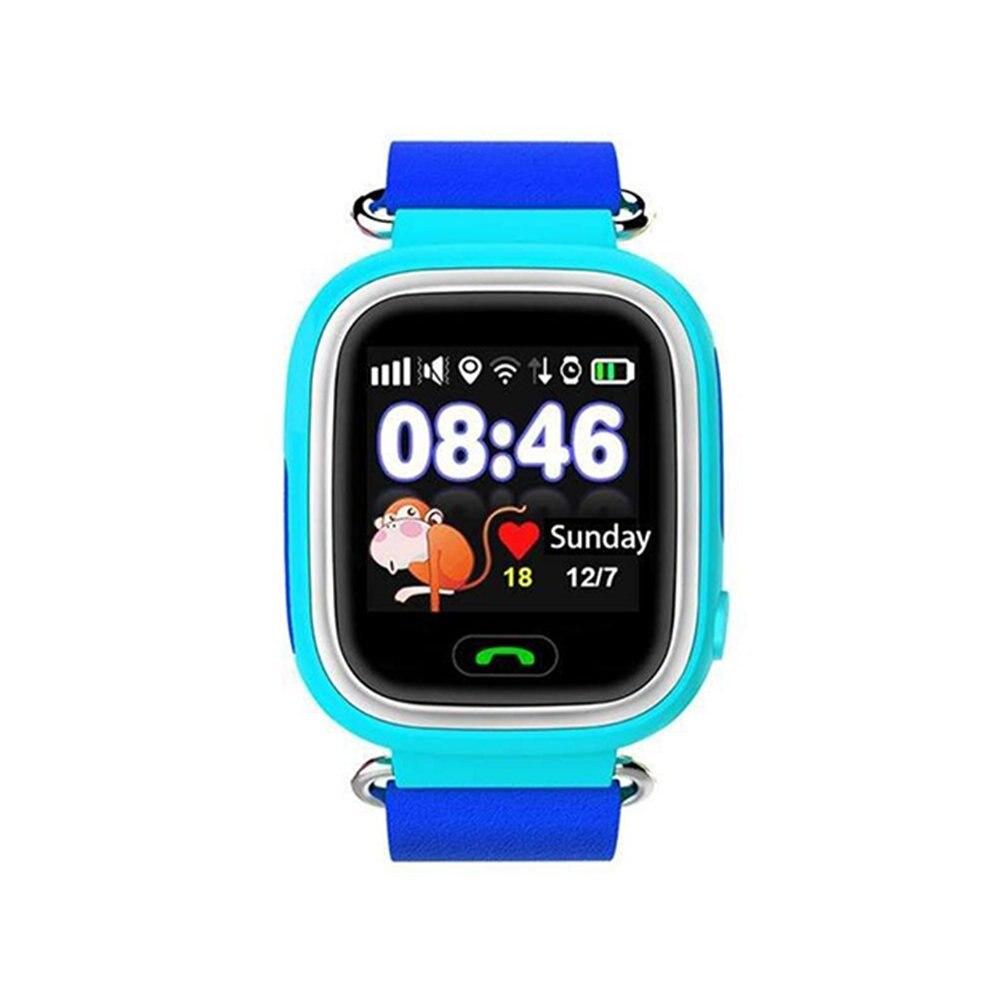 Дети GPS Смарт-часы GPS браслет трекер Поддержка sos-вызов GPS локатор голосовой чат удаленного Мониторы шагомер анти-потерянный montinor