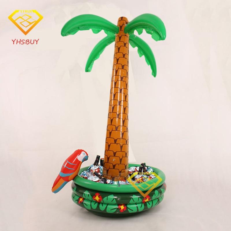 La palmera inflable con las fuentes del partido de la decoración del - Deportes acuáticos