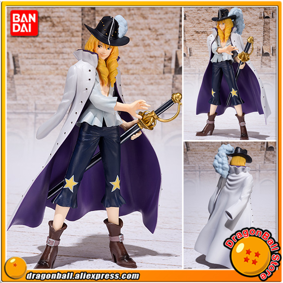 Japan Anime ONE PIECE Original BANDAI Tamashii Nations Figuarts ZERO Exclusive Collection Figure - Cavendish one piece bandai figuarts zero trafalgar law dress rosa hen figure toys kids