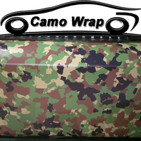 ORINO Army Green Matte Vinyl Film With Air Bubble Free Camouflage Wrap Sticker For Car Truck Motorbike Body Wrapping Decal