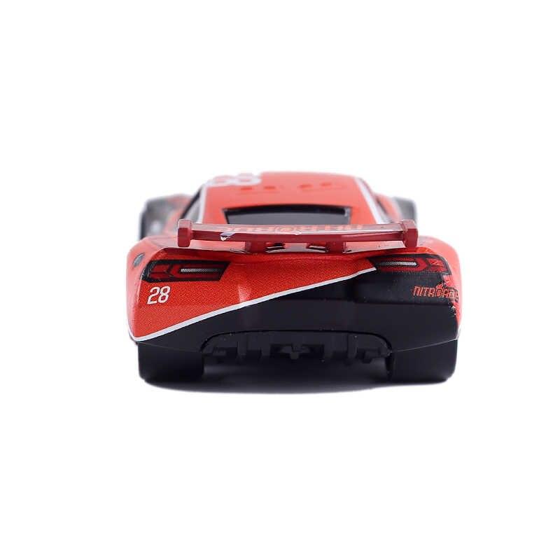 39 Gaya Disney Pixar Cars 3 Lightning McQueen Jackson Coches Cruz Ramirez Kualitas Tinggi 1:55 Diecast Mobil Model Mainan Anak-anak hadiah