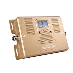 Image 3 - スマートデュアルバンド 2 グラム/3 グラム + 4 グラム携帯電話の信号ブースター 850/AWS1700/2100 モバイル信号リピータ携帯信号アンプキット
