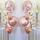 Rose Gold Foil ballo...
