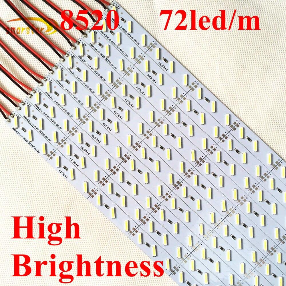 Smarstar haute luminosité DC 24 V 1 m 8520 LED barre de lumière LED rigide barre rigide 99 cm lumière LED pour l'éclairage de centre commercial de l'hôtel