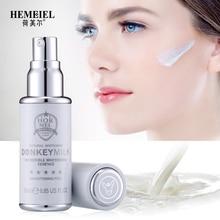 HEMEIEL Donkey Milk Essence Serum Face Strong Whitening Serum Moisturizing Anti Aging Facial Serum Skin Care Face Cream 25ML
