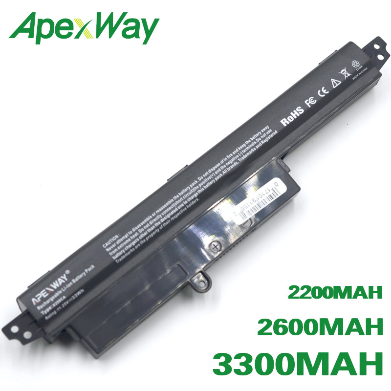 ApexWay A31N1302 A31LM9H Battery For ASUS  VivoBook F200CA R202CA F200M X200CA F200MA X200MA FX200CA