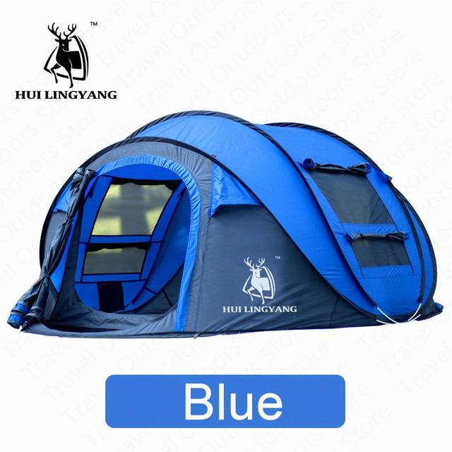 HUILINGYANG Tent Quick Open Camping 2