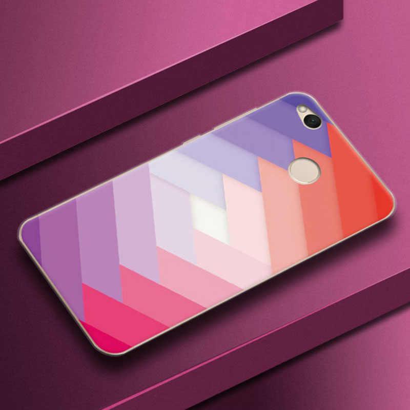 """エキゾチックな自然風景ソフト Tpu 電話ケース Xiaomi Redmi 4X 裏表紙シリコンコリアための 4 × 4 × redmi4X 5 """"インチ Funda"""