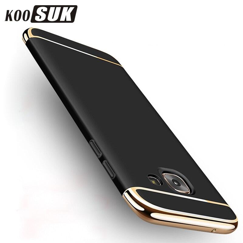 Originalni futrola za telefon za Samsung A6 A7 A8 A9 2018 pozlaćen - Oprema i rezervni dijelovi za mobitele