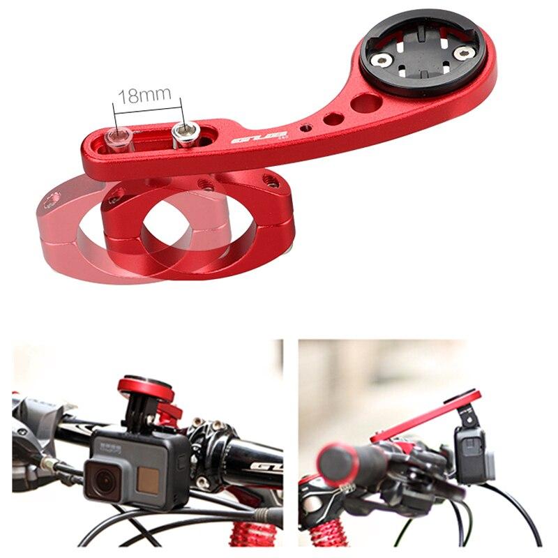 GUB 660 vélos VTT caméra Cycle Ordinateur titulaire GPS GoPro stand support télescopique pour CATEYE garmin Bryton guidon mont