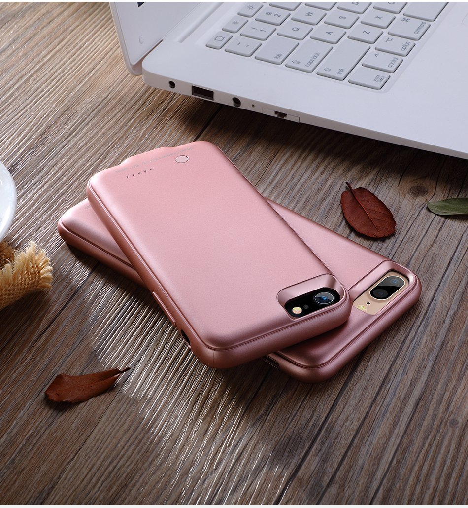 3000mAh Power Bank Case For iPhone 6 6S 7 8 Battery Charger Case for iPhone 6 Plus 6S plus 7 plus 8 plus Portable Charging Case