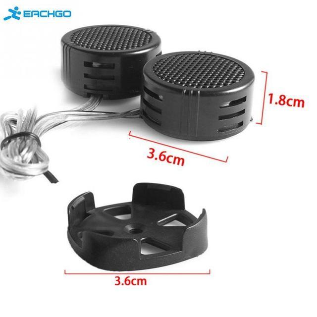 US $1 67 20% OFF 2pcs Universal High Efficiency 2x 500W Car Mini Dome  Tweeter Loudspeaker Loud Speaker Super Power Audio Auto Sound Klaxon  Tone-in