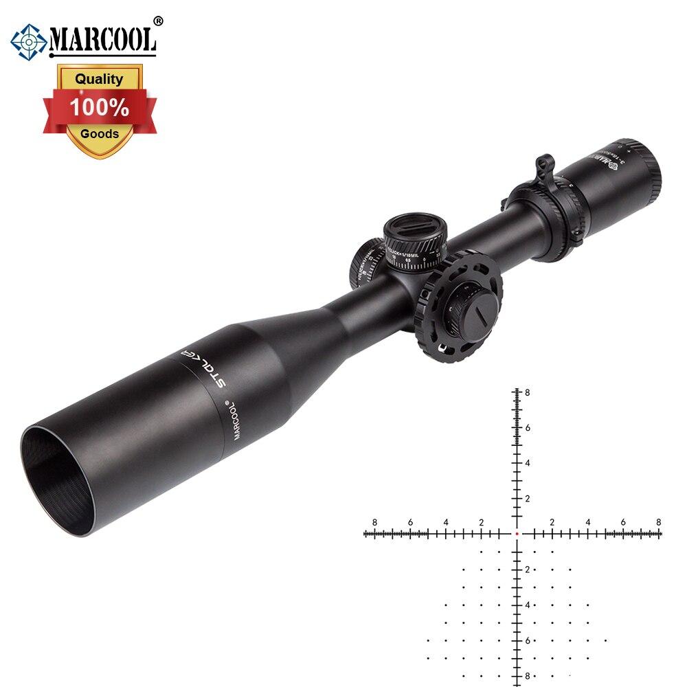 MARCOOL Optik Stalker 3-18x50 HD IR FFP Tactical Long Range Schießen Jagd zielfernrohr Erste Brennebene Zielfernrohr