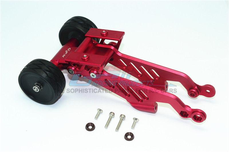 Arrma 1 8 OUTCAST KRATON Upgrade Parts Aluminum Rear Wheelie With Wing Mount