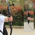 Профессиональный изогнутый лук 40lbs для правой руки  деревянный лук для стрельбы из лука  наружный охотничий лук  аксессуары  спортивный слеп...