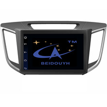 BEIDOUYH 10.2 inch Car GPS Navigation for HYUNDAI IX25 2014-2016 support SWC/OBD2 Car Diagnose/RDS Radio/DVR/rear view camera