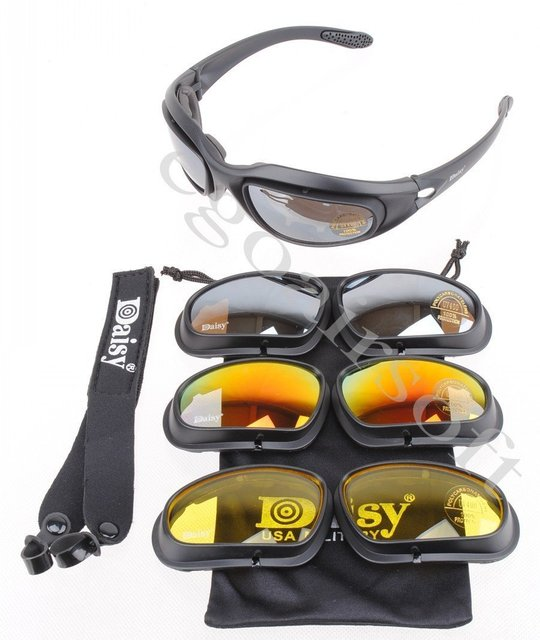 Daisy C5 goggle Polycarbonate Tactical Eye Protection Glasses Goggles