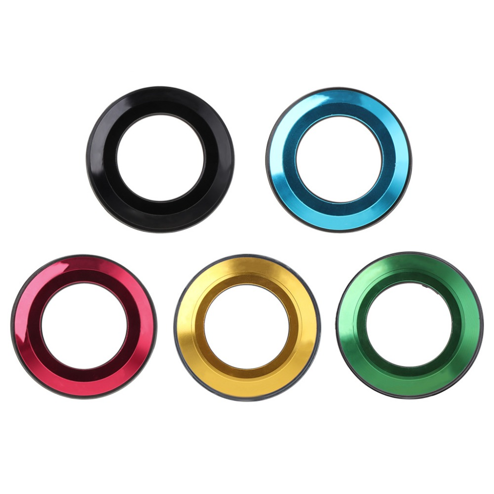 1 Pc Bicycle Headset Cap Aluminum Alloy CNC Flat Spacer MTB 28.6mm Bike Parts Cover(China)