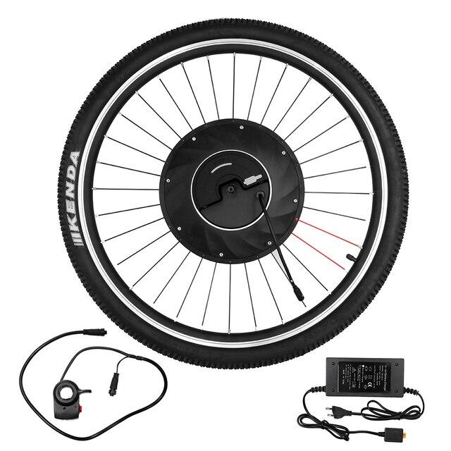 Roda dianteira Da Bicicleta Elétrica Disco/V Freio Motor Do Cubo Kit 36 v 240 w Potente Motor E Moto- conversão com Bateria