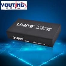 YOUTINGHDAV YT-HD12V1.4 HDMI splitter 1×2 4k 2160p30hz,2 port Distribution Amplifier Two ways