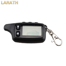 LARATH New Remote Controller Keychain Two-Way Car Alarm System LCD Fob For Russian Tomahawk TW9010