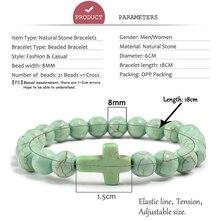 Cross Charm Couple Bracelet