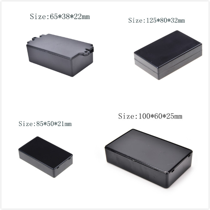 Connectors New Abs Diy Plastic Electronic Project Box Enclosure Instrument 100x60x25mm Ve834 P High Quality And Inexpensive