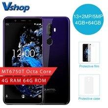 Orijinal OUKITEL U25 Pro 4G Cep Telefonu Android 8.1 4 GB RAM 64 GB ROM Octa Çekirdek Smartphone Çift SIM 5.5