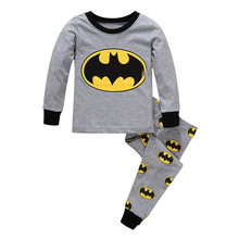 Pajamas kids for girls boys Children sleepwear pants baby underwear kids sets long sleeves cartoon clothes cotton and cheap new
