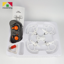 66R Mini RC Drones Headless Helicopter Mode 2.4G 4CH 4 Axle Foldable Quadcopter RTF Remote Control