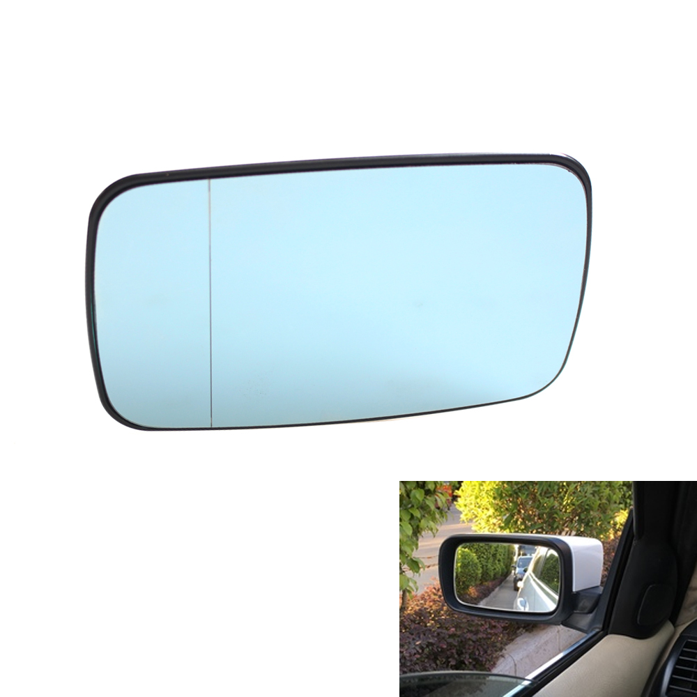 Car Left Driver Side Heated Rear View Mirror for BMW 3-Series E46 5-Series E39