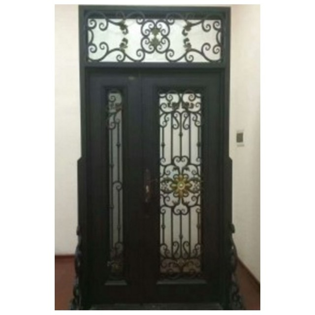 Metal Glass Double Entry Doors Luxury Double Entry Doors Arched Double Entry Doors Hc Ird19 In Doors From Home Improvement On Aliexpress Alibaba